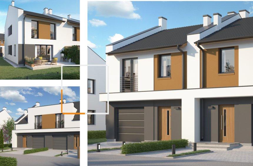 domy jednorodzinne w Ciecierzycach - wizualizacje