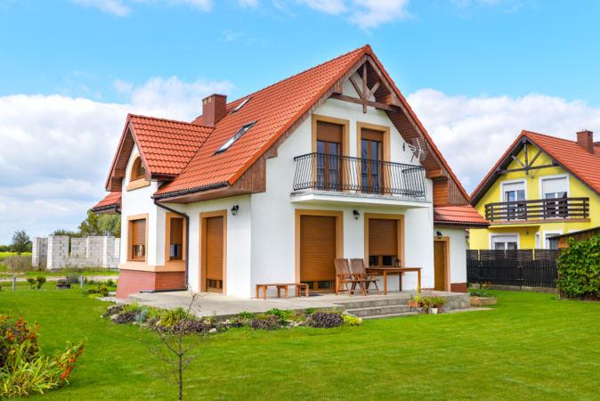 Domy jednorodzinne osiedle poznańskie