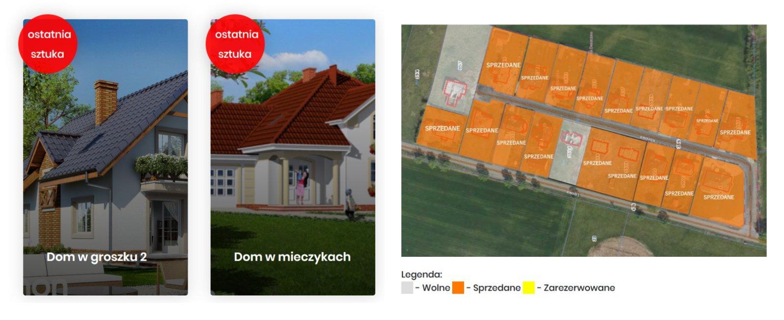 Domy w cenie mieszkania osiedle poznańskie, Gorzów – ostatnie sztuki