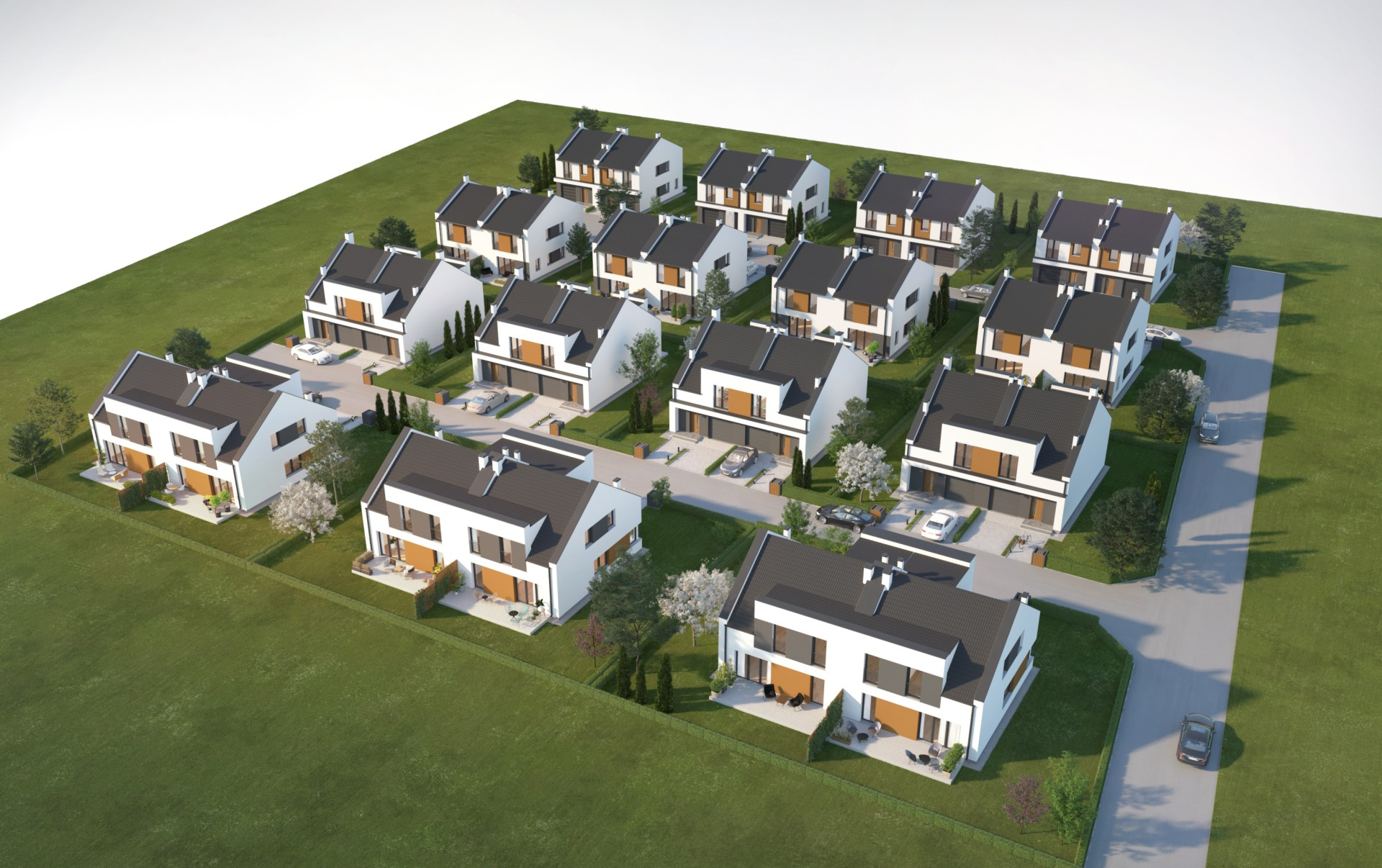 Domy jednorodzinne w Ciecierzycach – relacja z budowy